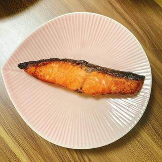 冷凍鮭で焼き鮭