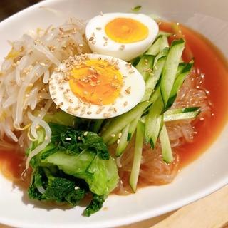 【170キロカロリー以下】白滝でつくる⭐冷麺