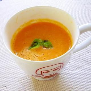 レンジで簡単♪にんじんのポタージュスープ
