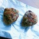 江戸時代の夜食風❤焼き味噌むすび♪