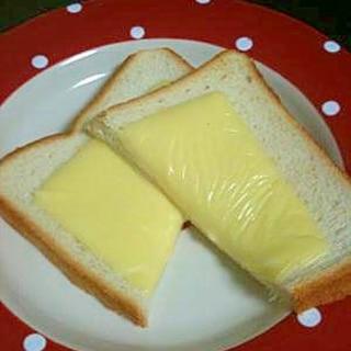 簡単うまうま チーズトースト♪