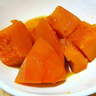 かぼちゃ(パンプキン)のしっとり煮物