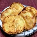 餃子の皮で 明太マヨチーズせんべい