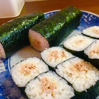 ツナマヨの巻き寿司♪