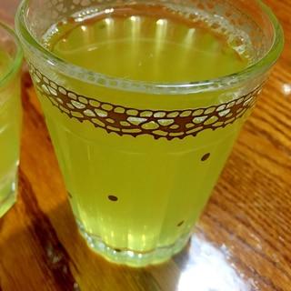 氷出し緑茶♪