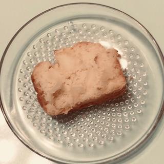【小麦粉とバター不使用】りんごのパウンドケーキ