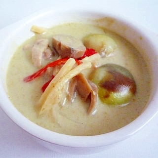 本格タイ料理 グリーンカレー