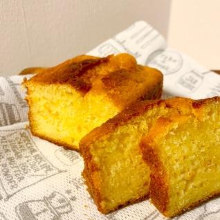 HMで超簡単!オレンジのパウンドケーキ!