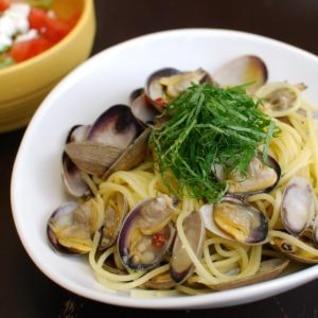 アサリと大葉のスパゲッティ