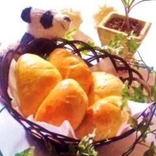 やさしい味のクリームパン☆