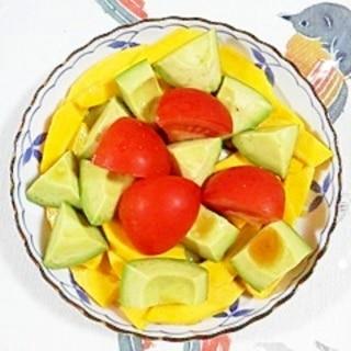 コリンキーのサラダ~♪