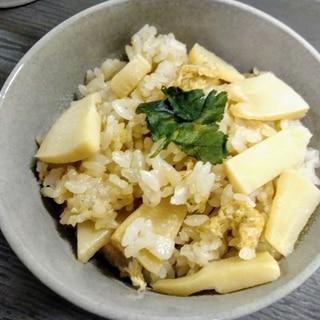 たっぷり筍ご飯de夕飯が簡単desu!