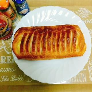朝食♡カスタードクリームデニッシュのアレンジ