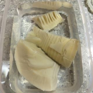 食感変わらず長持ち!たけのこ水煮の保存方法