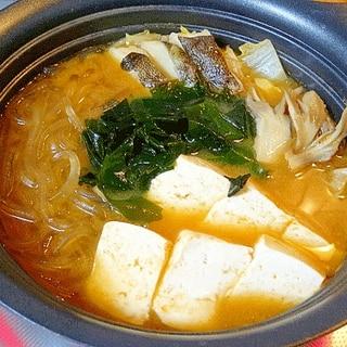 一夜干し鱈のだし☆ 「白菜の天醤鍋」