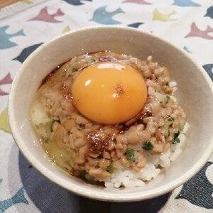 簡単!美味しい!納豆たまごかけごはん