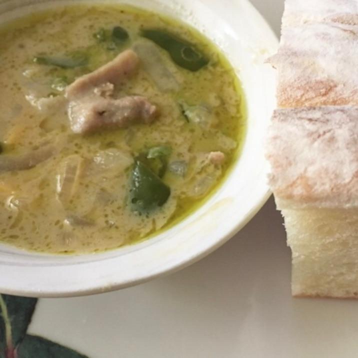 本場タイの味♡ロイタイで作るグリーンカレー