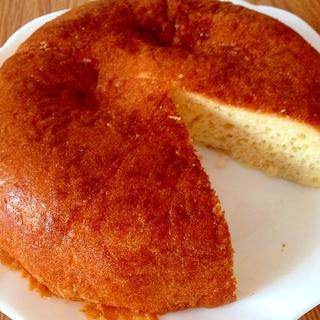 小麦粉を使って♪炊飯器でパンケーキ☆
