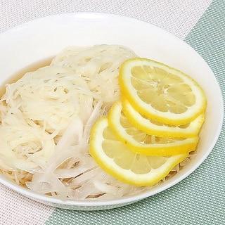 玉ねぎとレモンのぶっ掛け素麺★減塩・低カリウム志向