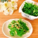 サラダに♡水菜の長持ち保存✧˖°