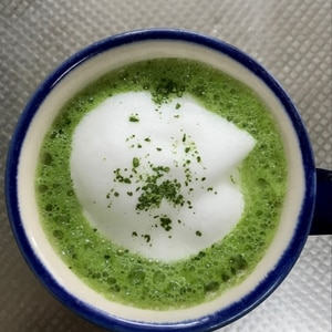 簡単な抹茶ラテの作り方 スタバ風