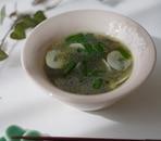 アジアン海苔スープ