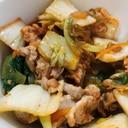 簡単美味しい豚キムチ炒め