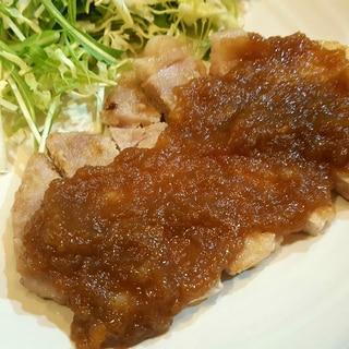 豚ロース厚切り肉で簡単晩ご飯☆ポークジンジャー