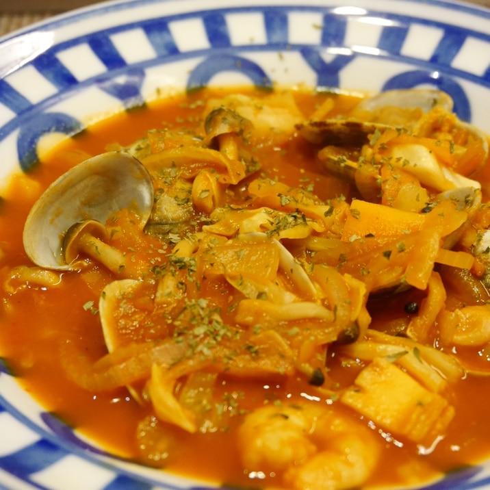 あさりのトマトシチュー☆トマトジュースで簡単