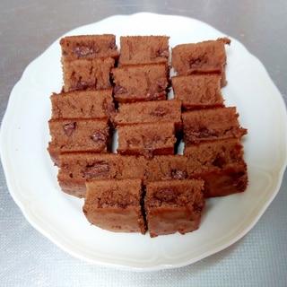 フライパンで作るチョコレートブラウニー