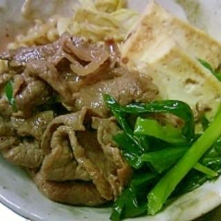 ちゃちゃっとつくる夏の肉豆腐