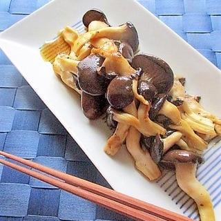 ひらたけの柚子胡椒ポン酢炒め