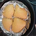 黒蜜きな粉蒸しパン