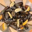 ムール貝のピリ辛ハラペーニョレモンバター
