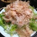 サラダ菜入りの新玉ねぎのスライス☆