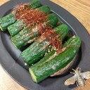 きゅうりの肉詰め韓国風