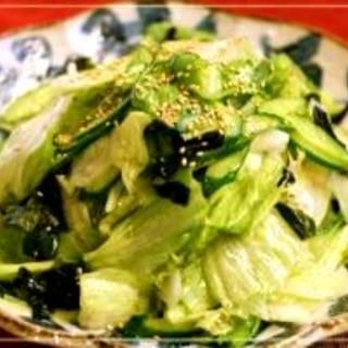 我が家の定番チョレギサラダ☆