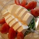 大葉と玉ねぎの豆腐サラダ