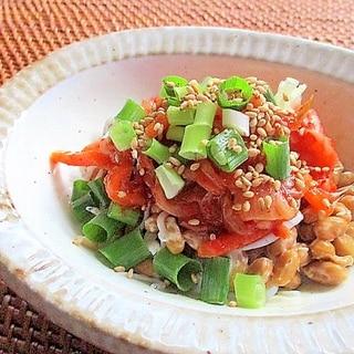 キムチしらす納豆