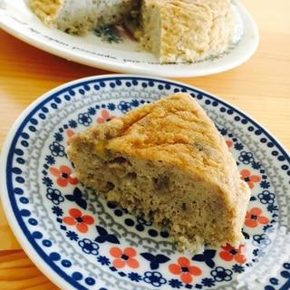 炊飯器で作る簡単ノンシュガーバナナシフォンケーキ