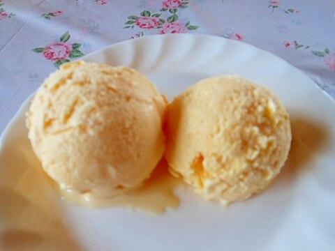 我が家の簡単バニラアイスクリーム