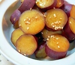 お弁当にも✿さつまいもの甘辛煮❤