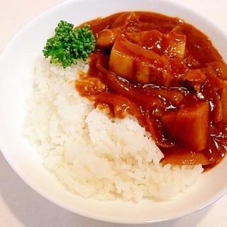 ゴロゴロたっぷりお肉☆豚バラブロックカレー