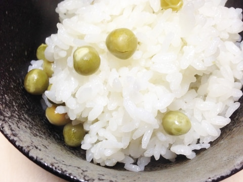 昆布 豆 ご飯