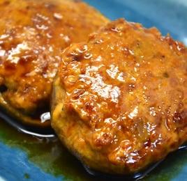 <定番シリーズ>材料3つ!甘辛こってり椎茸の肉詰め