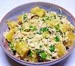 薩摩芋の豆腐ゴマ和え
