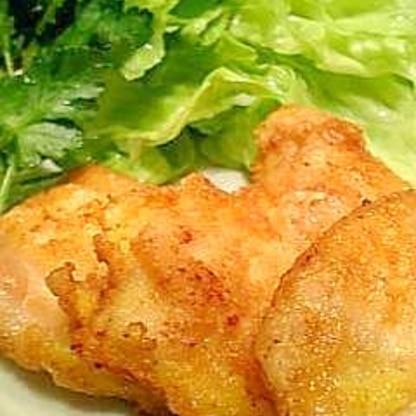 夕飯やお弁当に・・・鶏むね肉のチーズピカタ♪