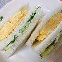 お弁当にぴったり☆卵サンド
