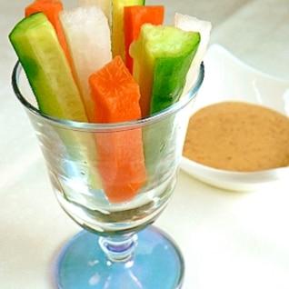 こどもがポリポリ食べる! 魔法の野菜スティック