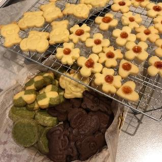 サクサク!基本のクッキー生地3種類
